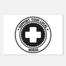 Support Nurse Postcards (Package of 8)