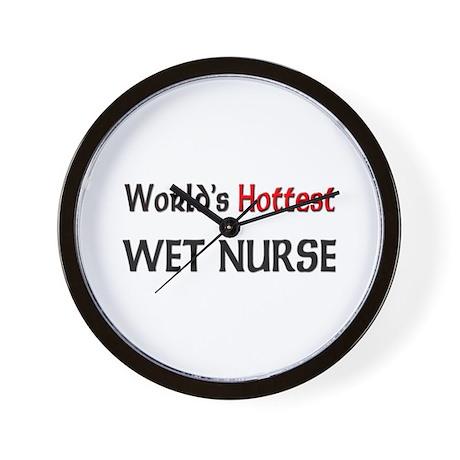 World's Hottest Wet Nurse Wall Clock