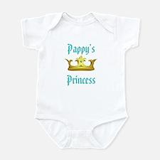 pappys princess blue Body Suit