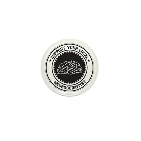 Support Neuroscientist Mini Button (10 pack)