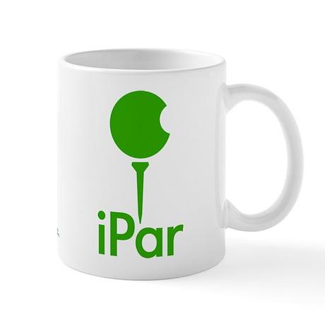 iPar Green Logo Coffee Mug