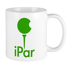 iPar Green Logo Coffee Mug
