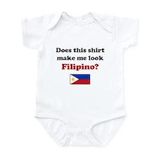 Make Me Look Filipino Onesie