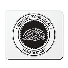 Support Neurologist Mousepad
