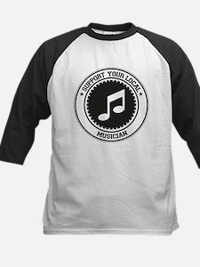 Support Musician Kids Baseball Jersey