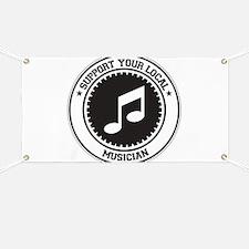 Support Musician Banner