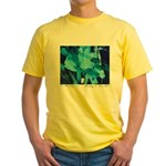 Ocean Tide Painting Yellow T-Shirt