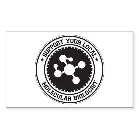 Support Molecular Biologist Rectangle Sticker