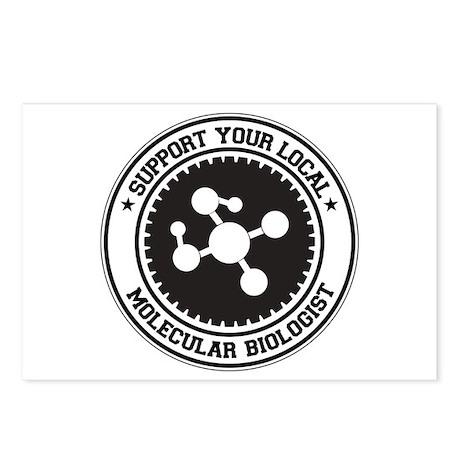 Support Molecular Biologist Postcards (Package of
