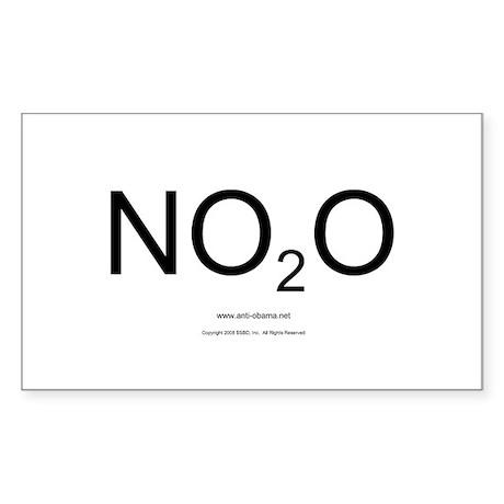 NO2O - Misc Rectangle Sticker