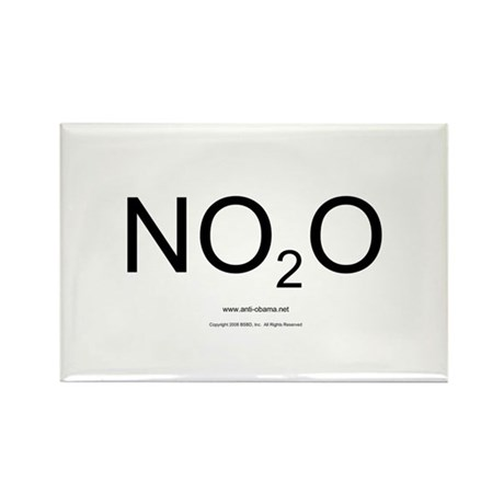 NO2O - Misc Rectangle Magnet (100 pack)