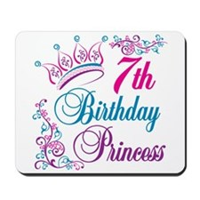 7th Birthday Princess Mousepad