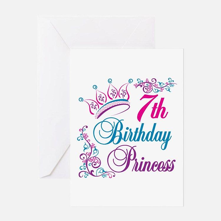 Happy 7th Birthday Greeting Cards