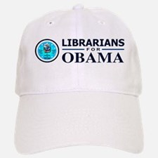 Librarians for Obama Baseball Baseball Cap