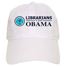Librarians for Obama Baseball Cap