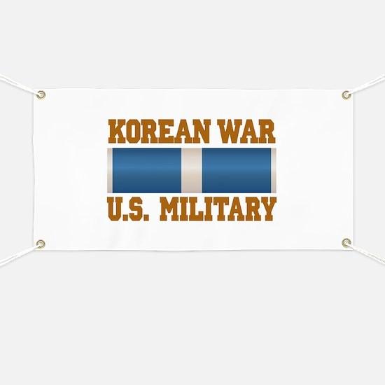 Korean War Service Ribbon Banner