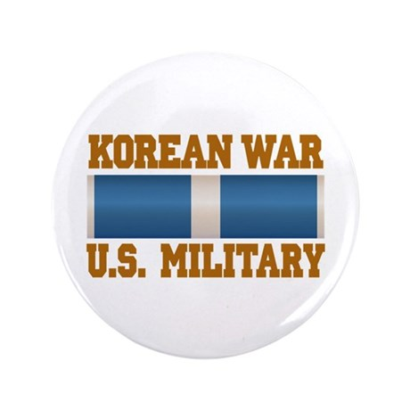 "Korean War Service Ribbon 3.5"" Button"