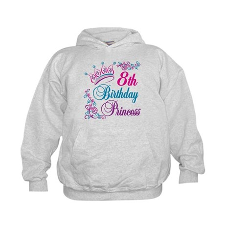 8th Birthday Kids Hoodie