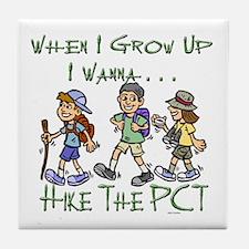 Hike PCT Tile Coaster