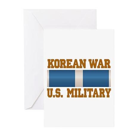 Korean War Service Ribbon Greeting Cards (Pk of 20