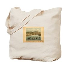San Francisco Historic Map Totebag