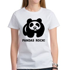Pandas Rock Women's T-Shirt