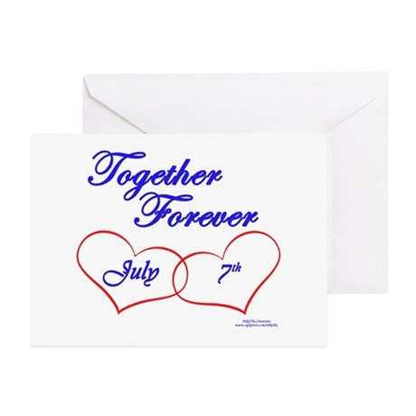 Together July 7th Greeting Cards (Pk of 10)