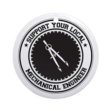 Support Mechanical Engineer Ornament (Round)