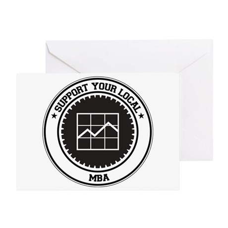 Support MBA Greeting Card