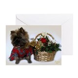 Christmas cairn Greeting Cards