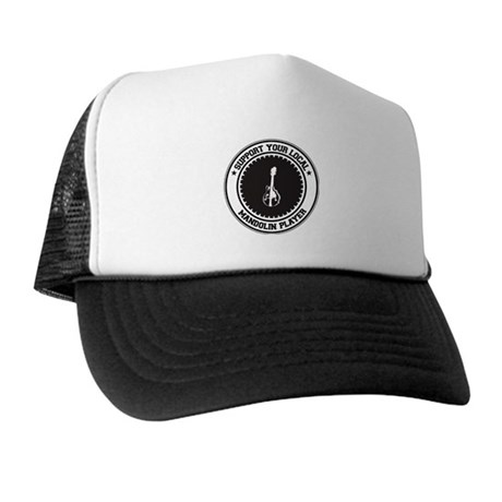 Support Mandolin Player Trucker Hat