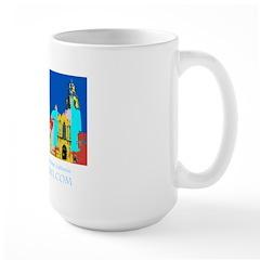 Mod San Diego Large Mug