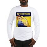 Up Yours Obama Long Sleeve T-Shirt