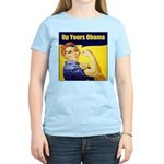 Up Yours Obama Women's Light T-Shirt