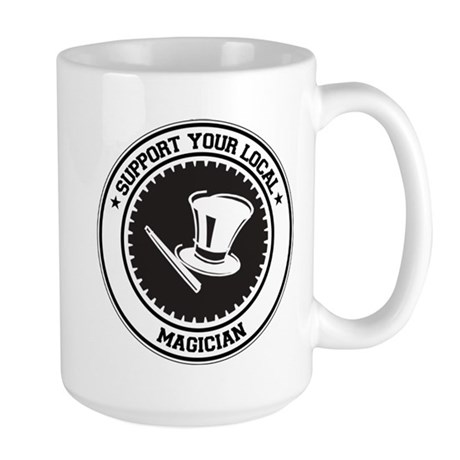 Support Magician Large Mug