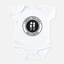 Support Mad Scientist Infant Bodysuit