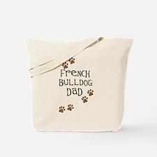 French Bulldog Dad Tote Bag