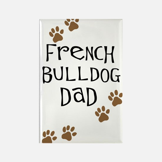 French Bulldog Dad Rectangle Magnet (10 pack)