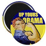 "Up Yours Obama 2.25"" Magnet (100 pack)"