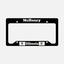 McHenry, IL License Plate Holder