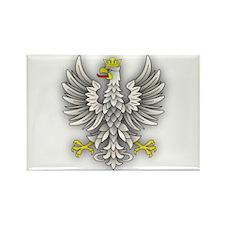 White Eagle Shadow Rectangle Magnet