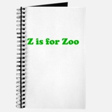 Z is for Zoo Journal