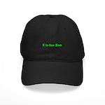 Z is for Zoo Black Cap