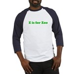 Z is for Zoo Baseball Jersey