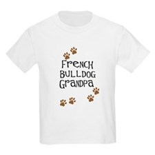 French Bulldog Grandpa T-Shirt