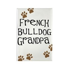 French Bulldog Grandpa Rectangle Magnet