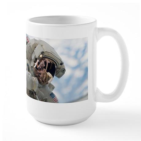Astronaut Space Walk Large Mug