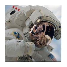 Astronaut Space Walk Tile Coaster