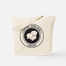 Support Linguist Tote Bag
