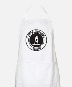 Support Lifeguard BBQ Apron